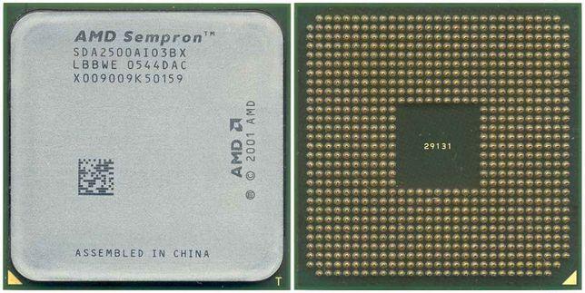 Процессор AMD Sempron 2500+ Процессор Intel® Pentium® III