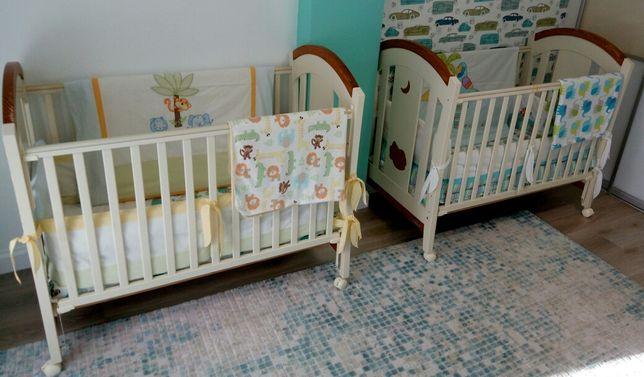 дитяче ліжечко для двійні ліжко для двійнят Ліжечка для немовлят Trama