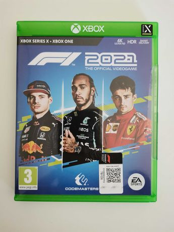 Jogo F1 2021 XBOX