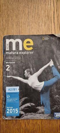 New me matura Explorer workbook A2/B1 podręcznik i ćwiczenia