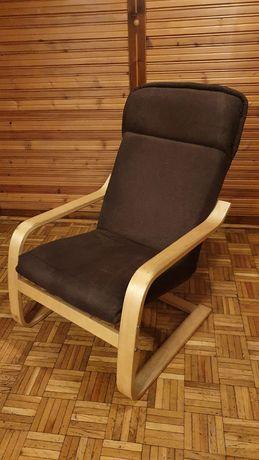 Fotel Ikea, bujany