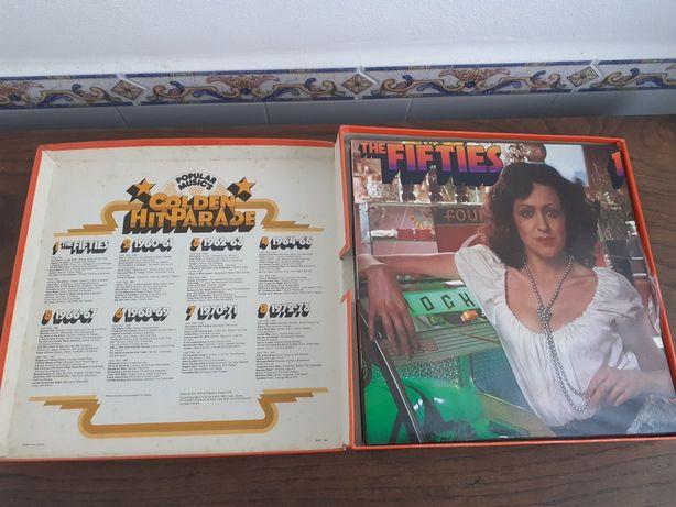 Caixa com 8 LPs perfeitos  Golden hit parede