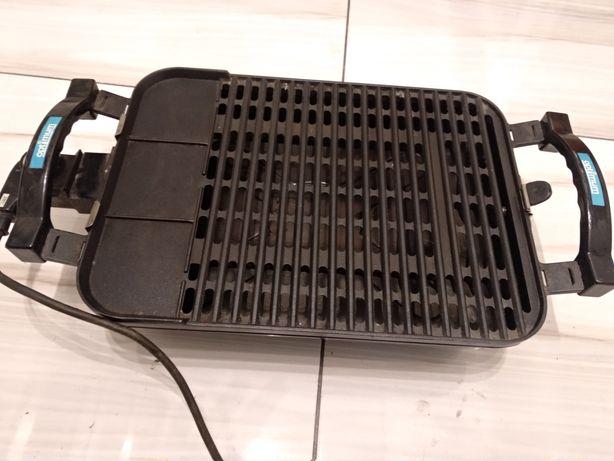 Grill elektryczny z termostatem, 50x30cm stan idealny
