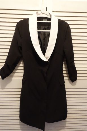 sukienka asymetryczna marynarkowa r.s Missguided