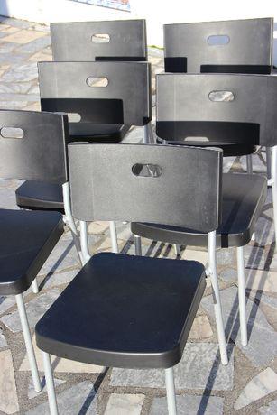 6 cadeiras de escritório
