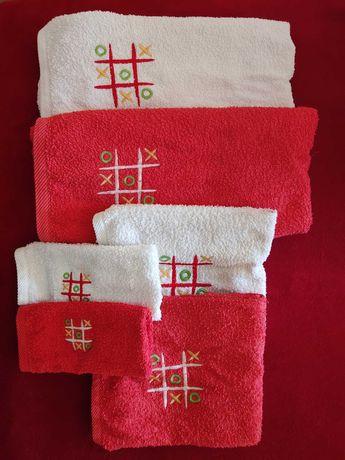 Conjunto de 6 toalhas