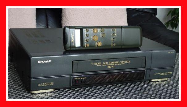 Magnetowid VHS SHARP VC-6V3 video pilot