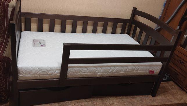 Комбіноване ліжко в дитячу  ліжко з дерева недорого від виробника