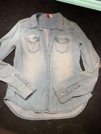 Koszula jeansowa jasna rozmiar 38