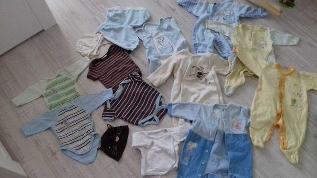 Zestaw ubranek dla niemowlaka 56-62 cm