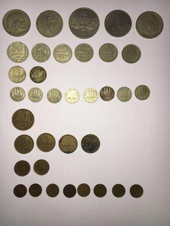 Монеты СССР копейки 1 2 3 5 10 20 50 копеек 1 5 рубль ЦЕНА ДОГОВОРНАЯ