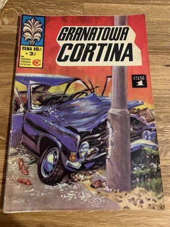 Komiks granatowa cortina