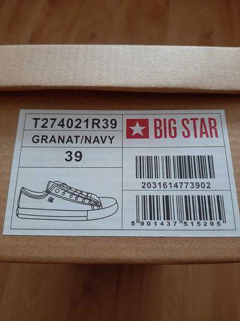 Trampki big star rozmiar 39
