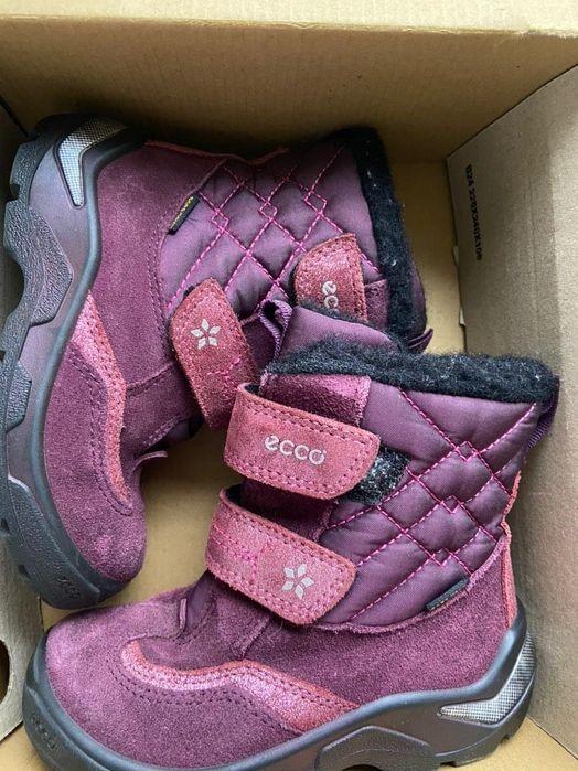 Термо ботинки ECCO для девочки Конотоп - изображение 1