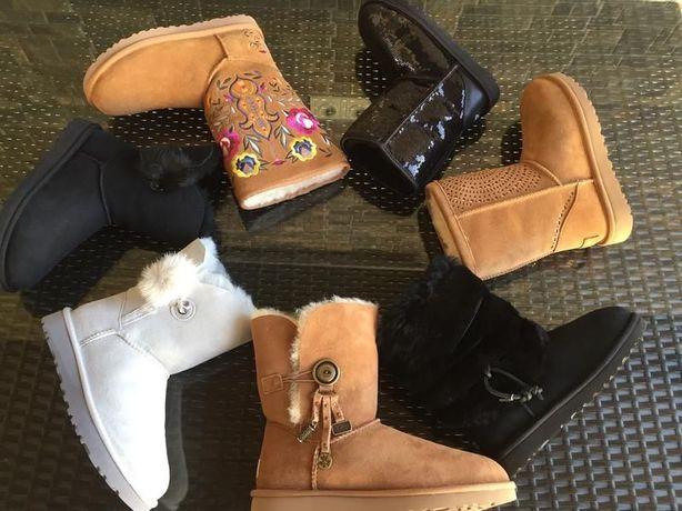 Ботинки сапоги зимние UGG