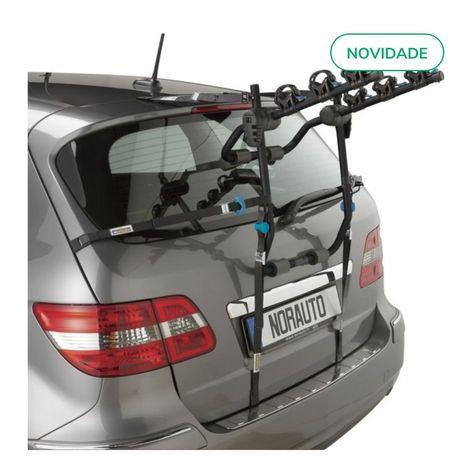 Porta bicicletas traseiro NORAUTO Norbike 3R V2 para 3 bicicletas