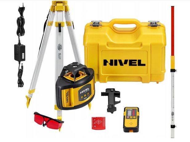 NIVEL SYSTEM Rotacyjny Niwelator Laserowy NL500 zestaw GWARANCJA