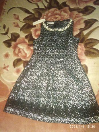 Платье нарядное размер S новое
