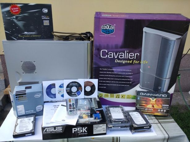 PC zestaw TAGAN 430W, ASUS, Gainward, Cooler Master 3 dyski SB 24-bit