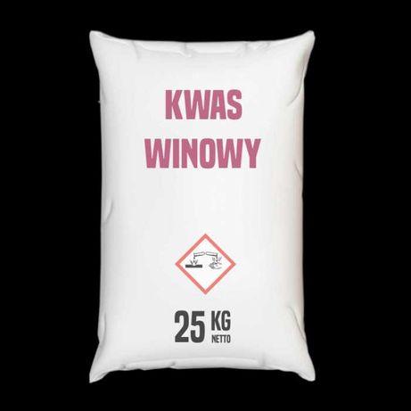 Kwas winowy – 25 – 1000 kg – Wysyłka kurierem