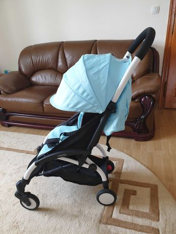 Легкая прогулочная коляска YOYA 175+, два текстиля + весь комплект