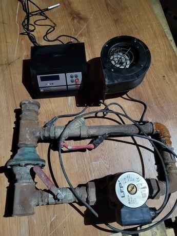 Sterownik pompa wentylator do pieca węglowego