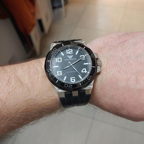 Zegarek emporio armani duży