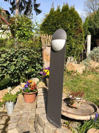 Lampa PHILIPS stojąca metalowa ogrodowa LED SZARA CAPRICORN