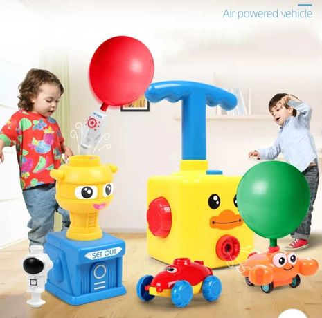 Zabawka edukacyjna angry birds aerodynamiczne pojazdy na balony