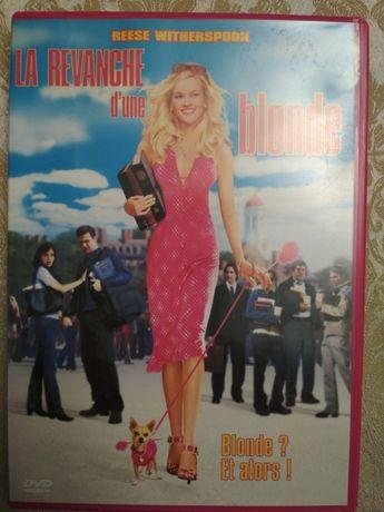 DVD Блондинка в законе фильм на англ и французском языке