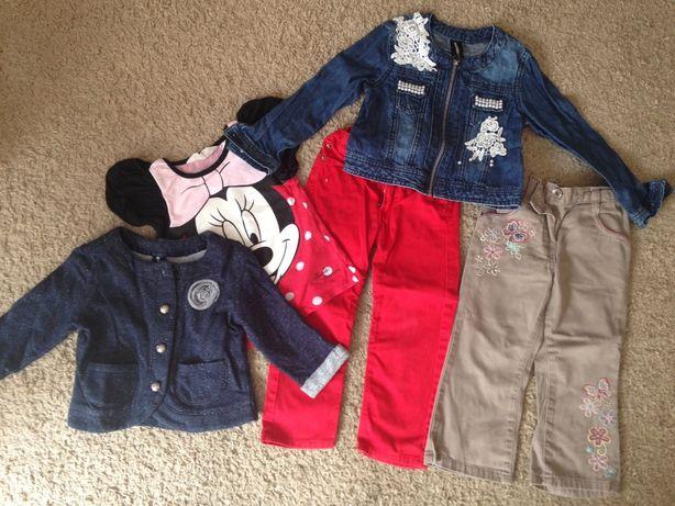 Paka zestaw ubran dla dziewczynki 98 104 hm cherokee 2 3 4 lata
