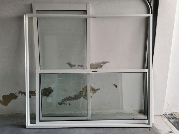 Janelas em alumínio vidro duplo