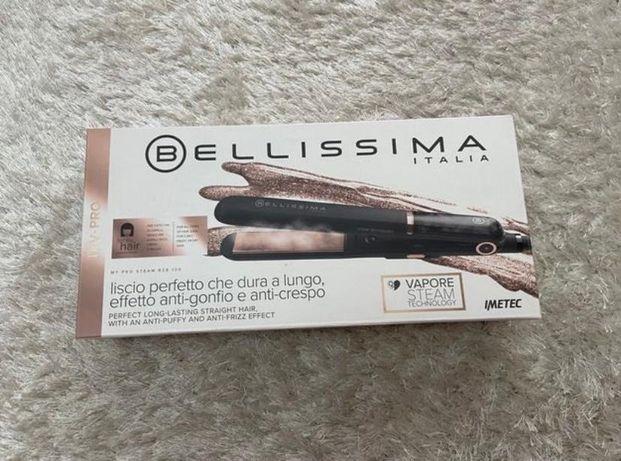 Prancha de cabelo a vapor BELLISSIMA ( PRATICAMENTE NOVA)