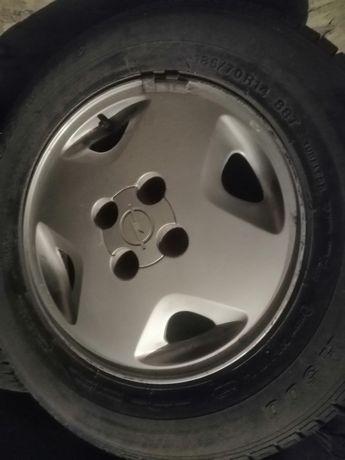Felgi aluminiowe Opel, 14 cali, 5 szt.
