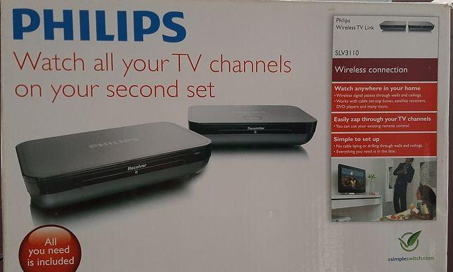 Philips wireless TV Link - ver todos canais de uma tv noutra tv