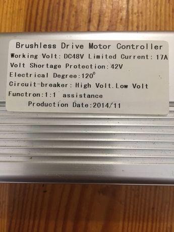 Контроллер для электровелосипеда 48V