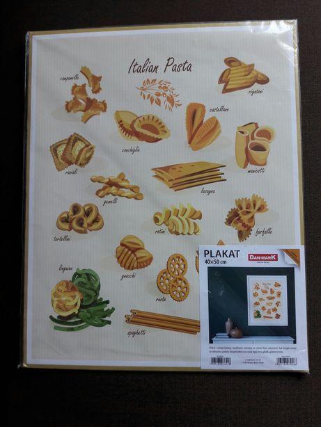 Italian Pasta - nowy, zapakowany, plakat idealny do Twojego wnętrza