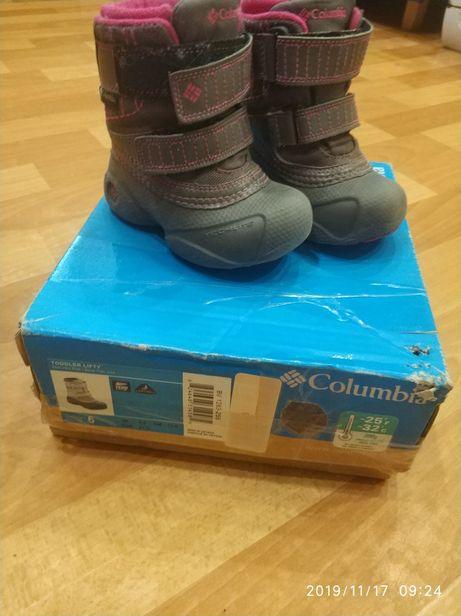 Продам сапоги columbia 6 амер., 21 размер,стелька 14 см