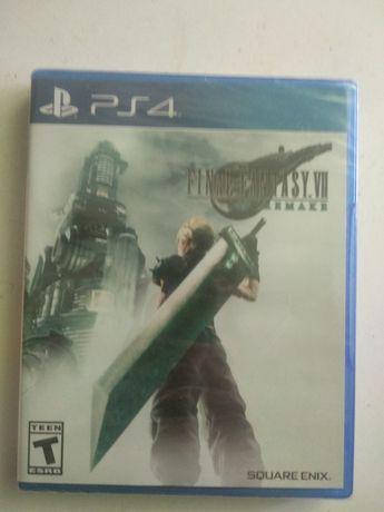 Final fantasy VII 7 Remake Playstation 4