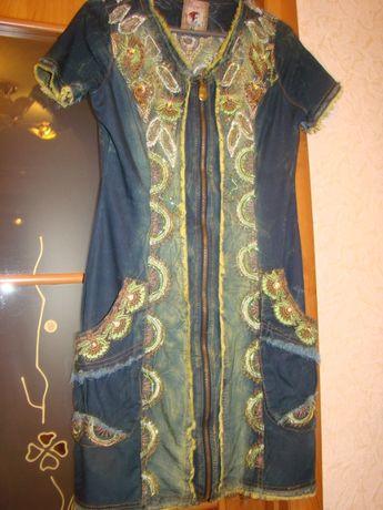 Фирменное летнее платье Signet р.38/44/М