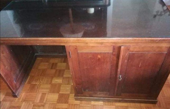 Secretaria madeira maciça