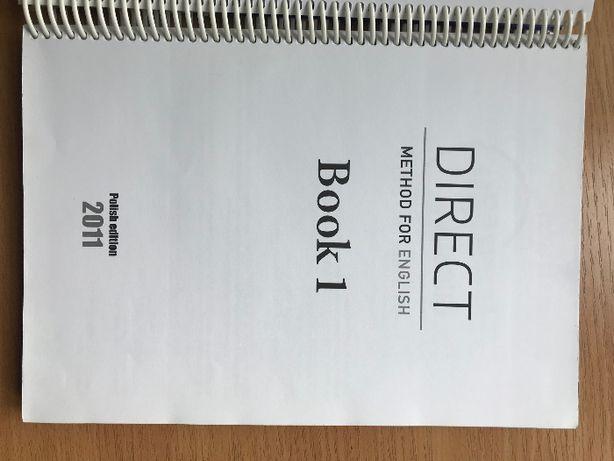 Książka BOOK 1 angielski_Direct English książka dla nauczyciela