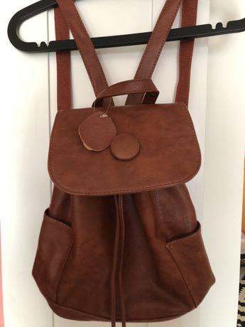 Oryginalny plecak ze skory wielbłąda -piękny !!!