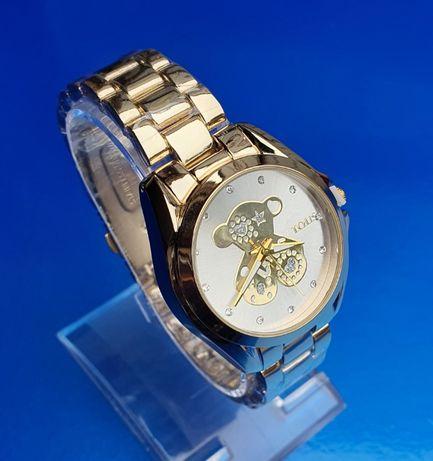 Zegarek TOUS damski elegancki kolor Gold