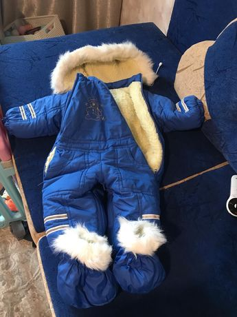 Детские комбинезоны зима