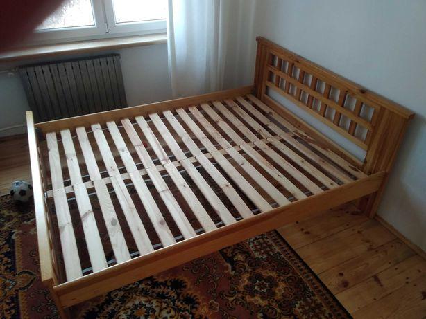 Łóżko 100%  naturalne drewno sosna 160x200