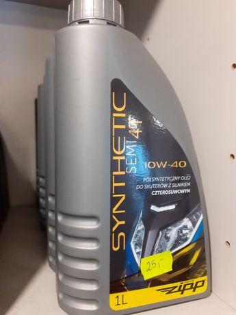 Olej ZIPP 4t SEMI SYNTHETIC! Dobry produkt w dobrej cenie!