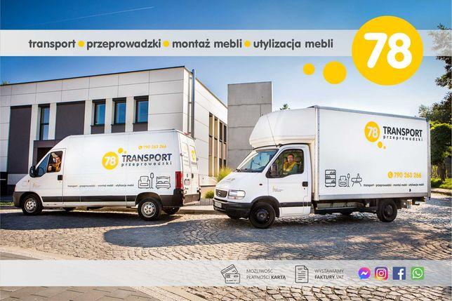 Transport / Przeprowadzki / skręcanie mebli / utylizacja / Wodzisław