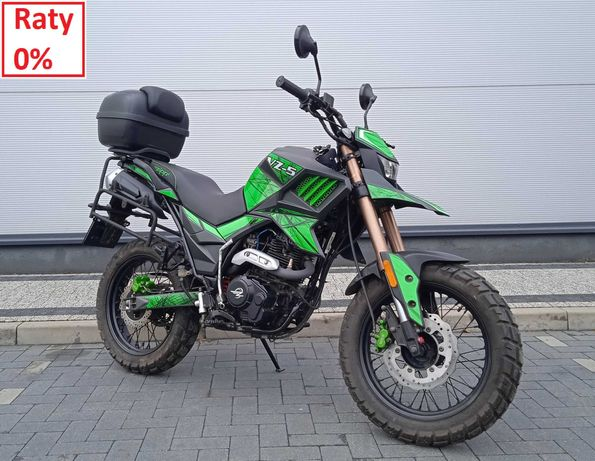 Super Motocykl Zipp VZ-5 125 Enduro Hyper stan bdb demo