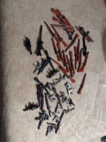 Lote armas 2ª guerra mundial compativeis com LEGO